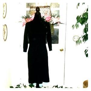 Ralph Lauren cashmere and silk dress size S